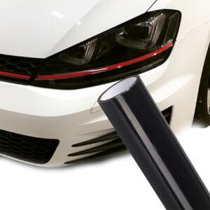 Hellschwarze Autoscheinwerfer selbst erstellen mit Folie
