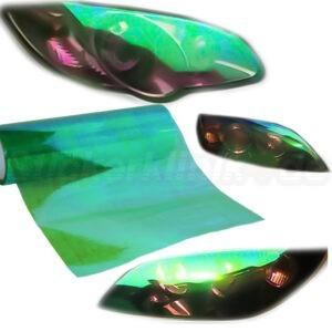 Grüne Folie Rückleuchten tönen