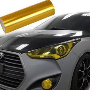 Folie in Gelb Autolichter Folieren