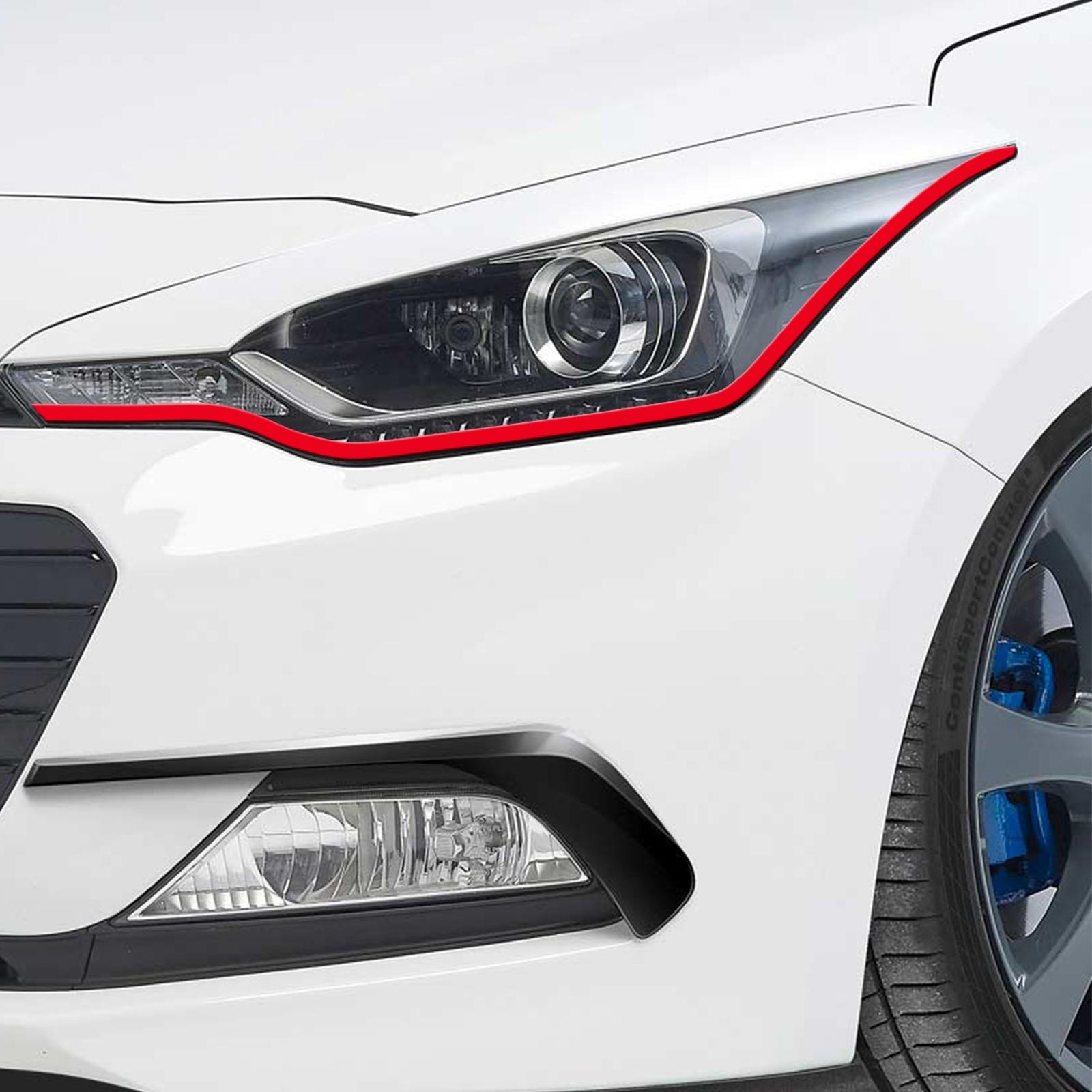Böser Blick passend für Hyundai i20 Auto Scheinwerfer Folie