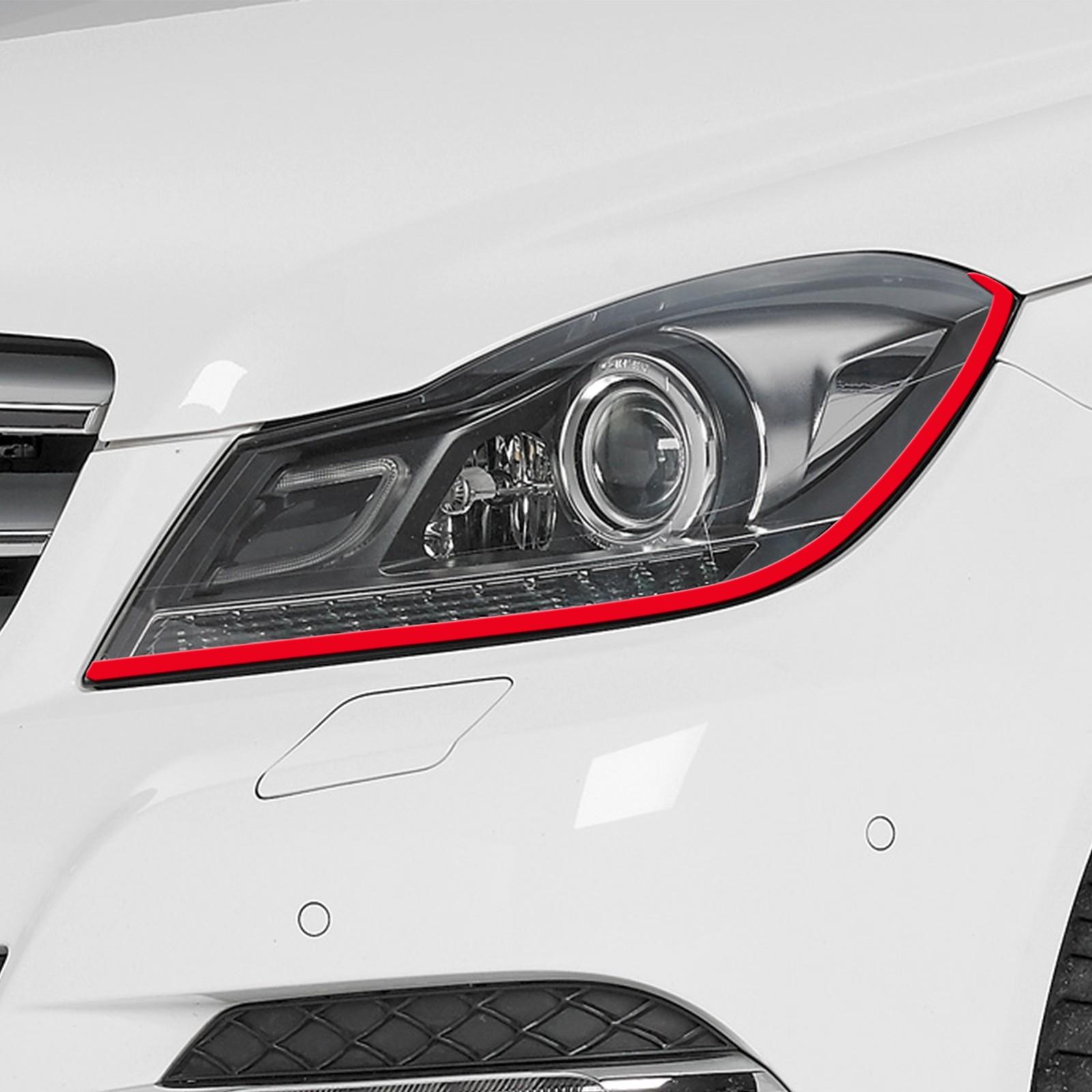 Böser Blick passend für Mercedes Benz Auto Scheinwerfer Folie