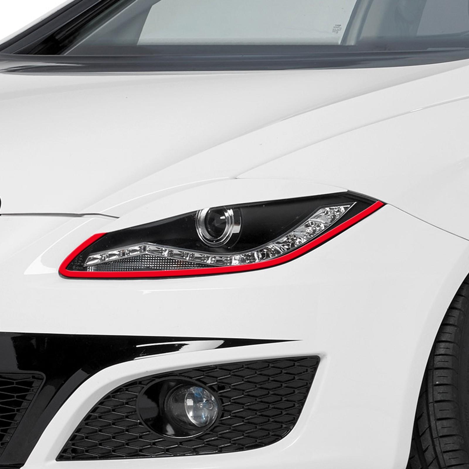 Bößer Blick passend für Seat leon cupra Auto Scheinwerfer Folie