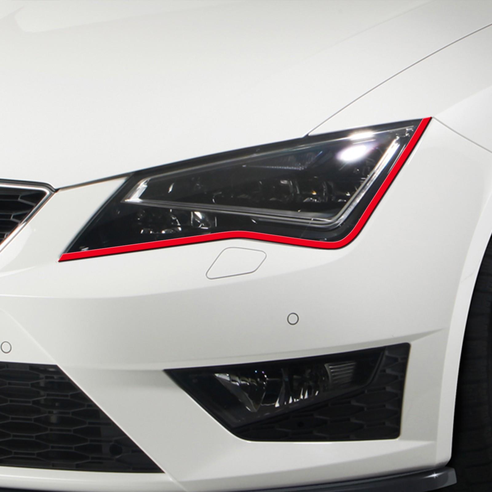 Bößer Blick passend für Seat leon 5F Auto Scheinwerfer Folie