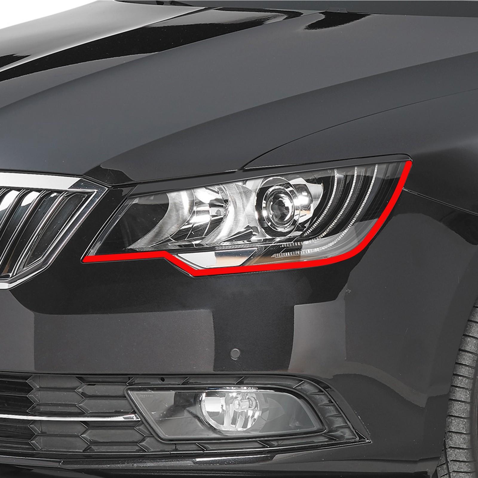Bößer Blick passend für Skoda Superb Auto Scheinwerfer Folie