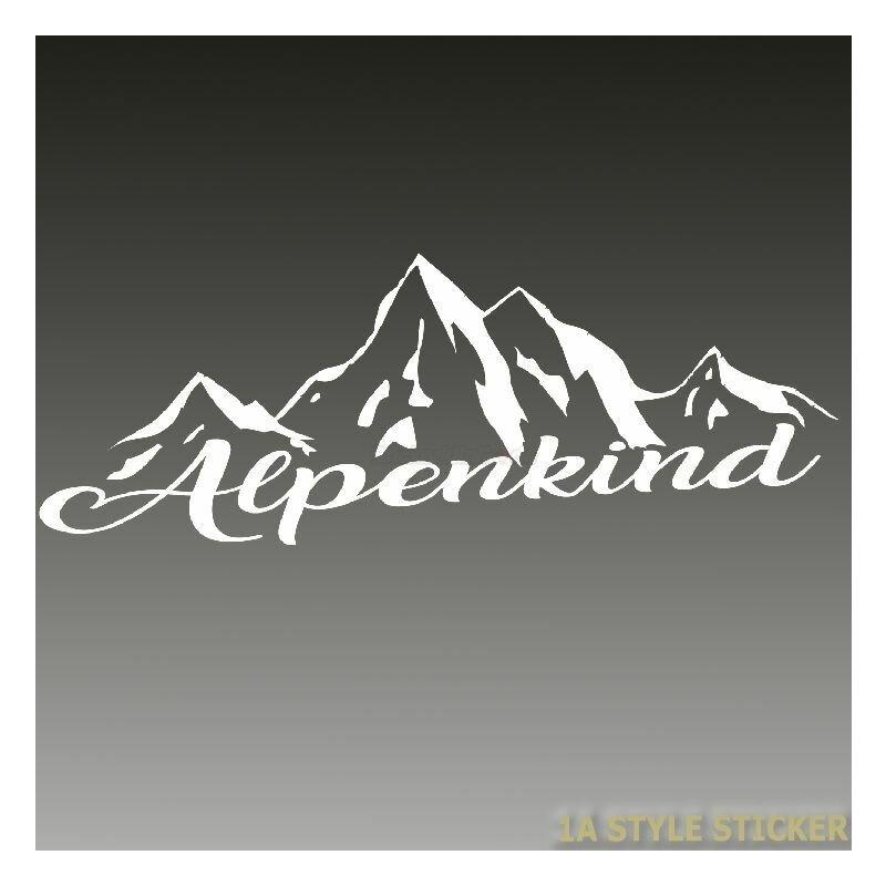 Alpenland Abziehbild Edelweiß Aufkleber R10//2