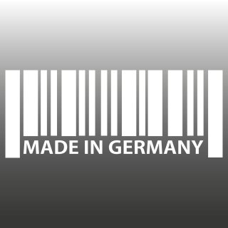 MADE IN GERMANY Aufkleber Barcode