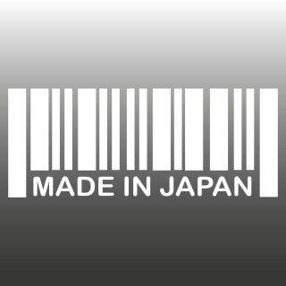 Made in Japan Auto-Aufkleber